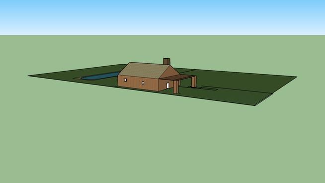 Good House with nice pool
