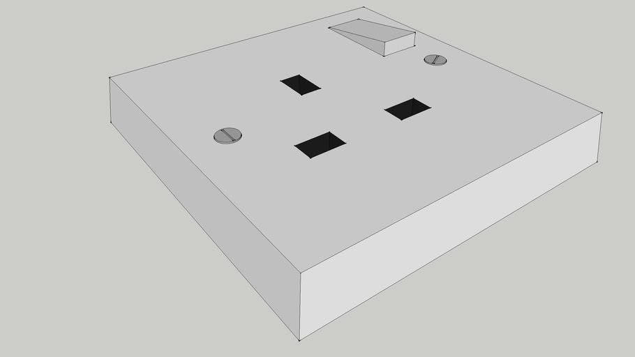Typical British Plug Socket