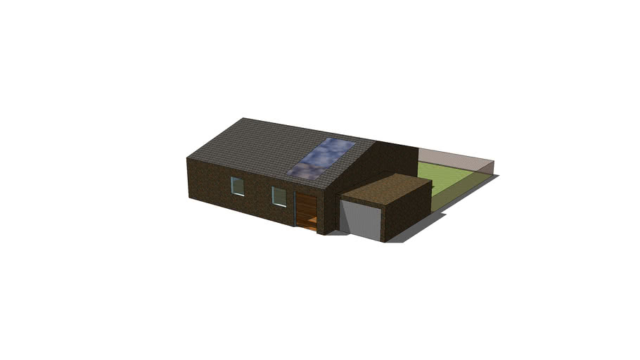 1 floor house