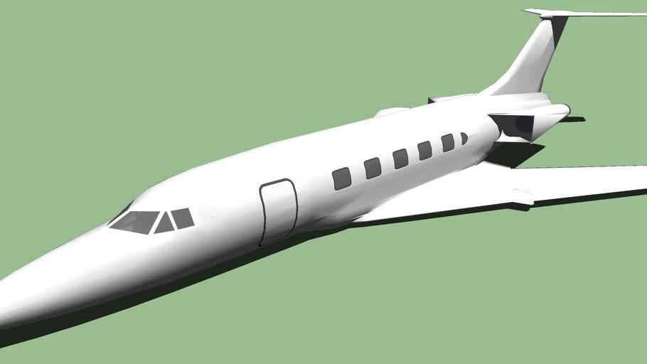 Carreidas C-160 (With wing swept)