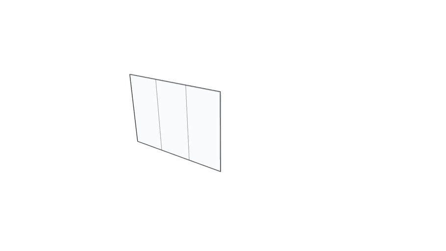 Claridge - Whiteboard Wall 8x4