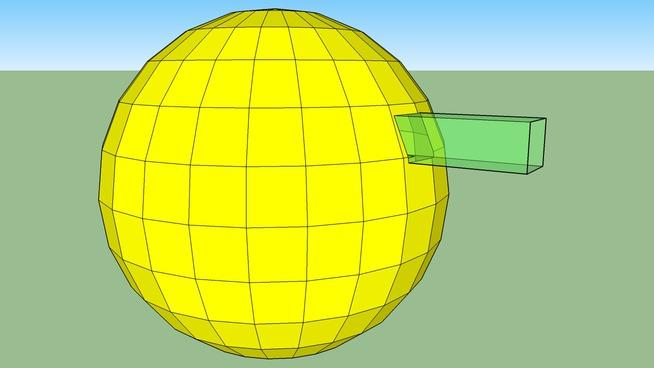 Alberca dentro de esfera