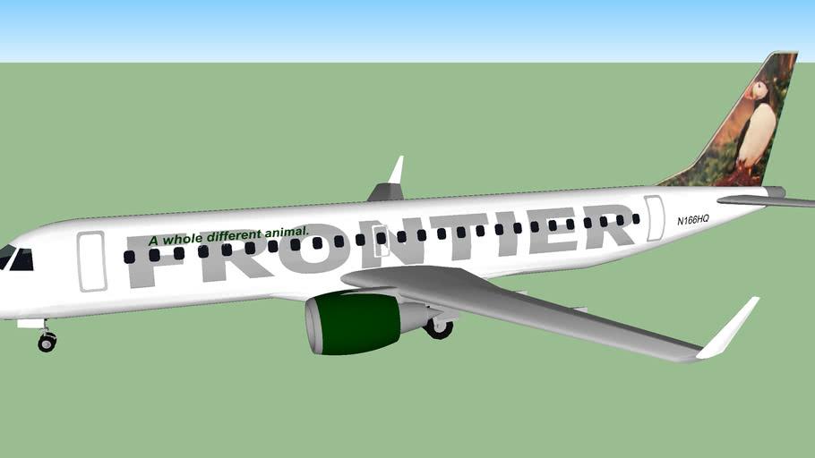 Frontier Airlines (2012) - Embraer ERJ-190AR (ERJ-190-100 IGW)