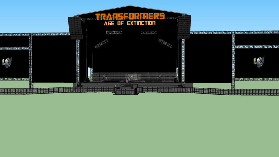 Transformers 4: Age Of Extinction World Premiere Stage