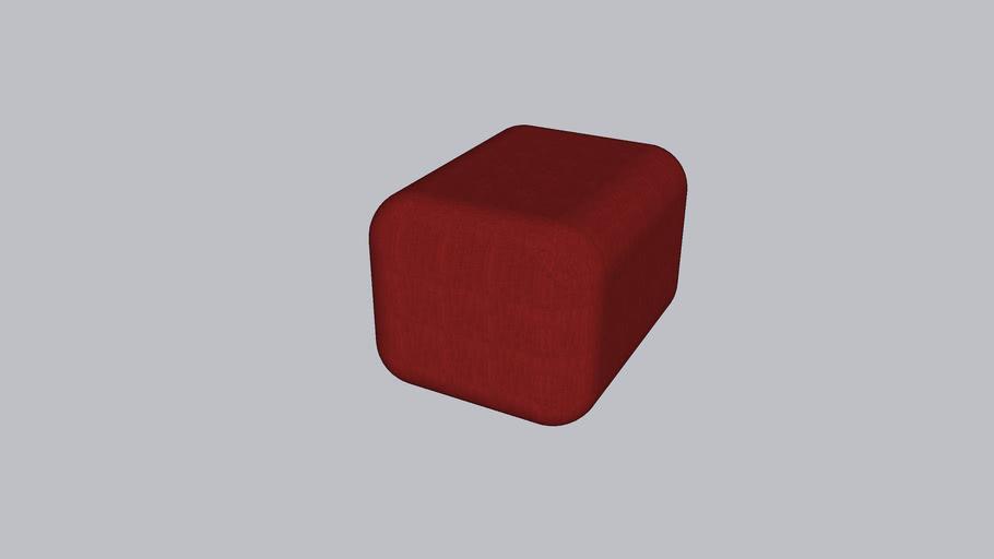 Oar R_Soft stool_Autumn Orange