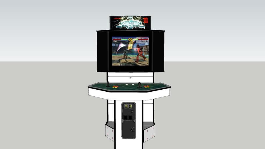 Soul Calibur (Showcase Cabinet) Arcade
