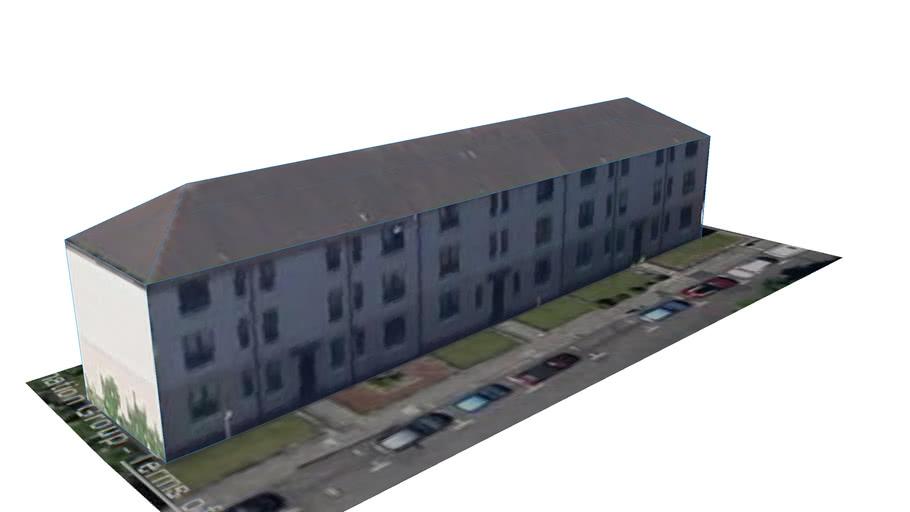 Building in Glasgow, Glasgow City, UK