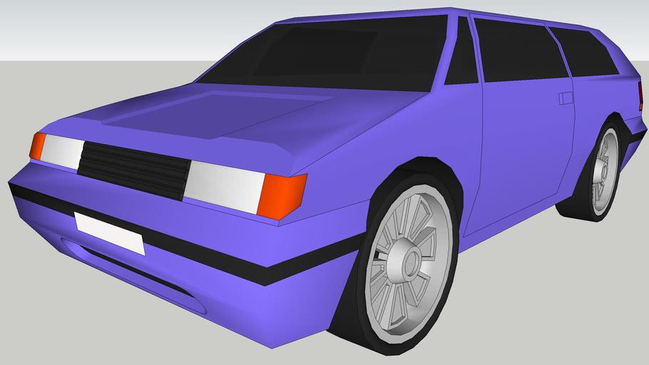 C1 Concept car - Low Poly