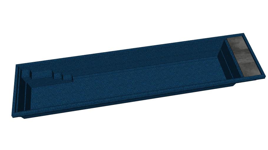 Fast Lane 122 - Bi Luminate Blue Granite - Compass Pools