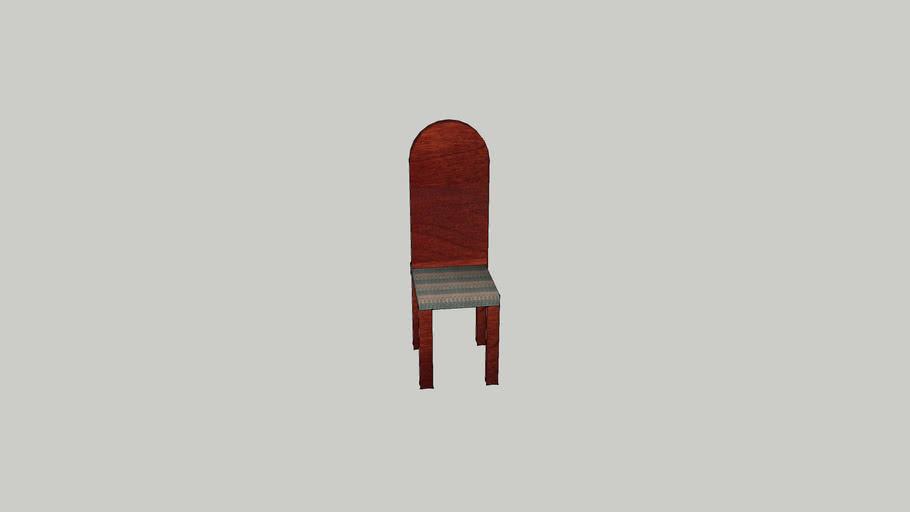 Cherry wood chair