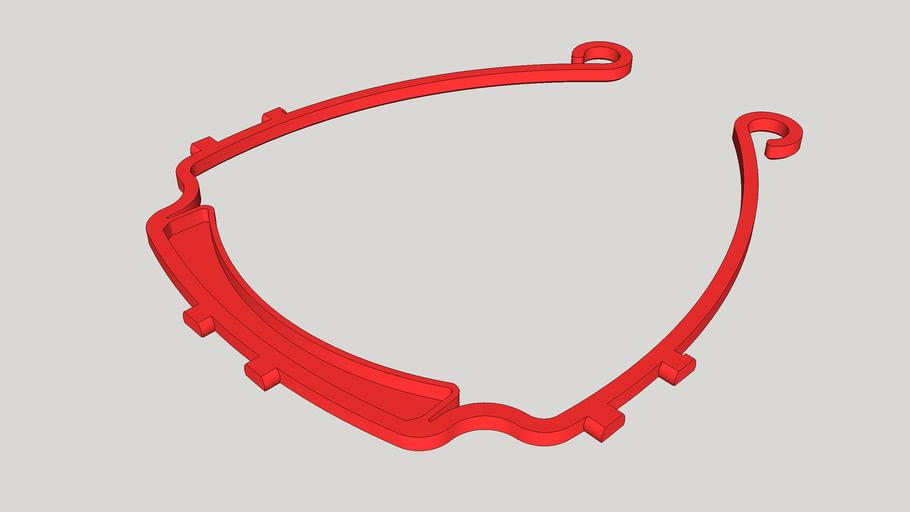COVID-19 Face Shield North America 6 Hole v5