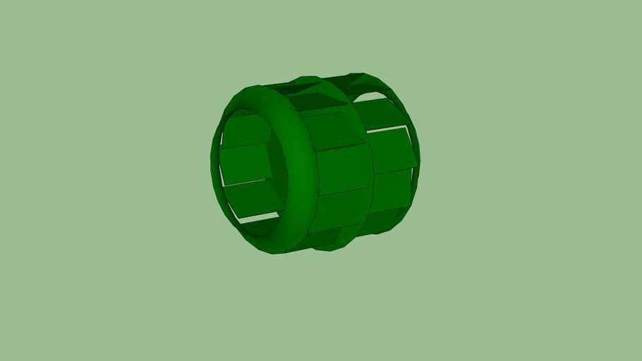 Centrifugal BIC Blower Wheel