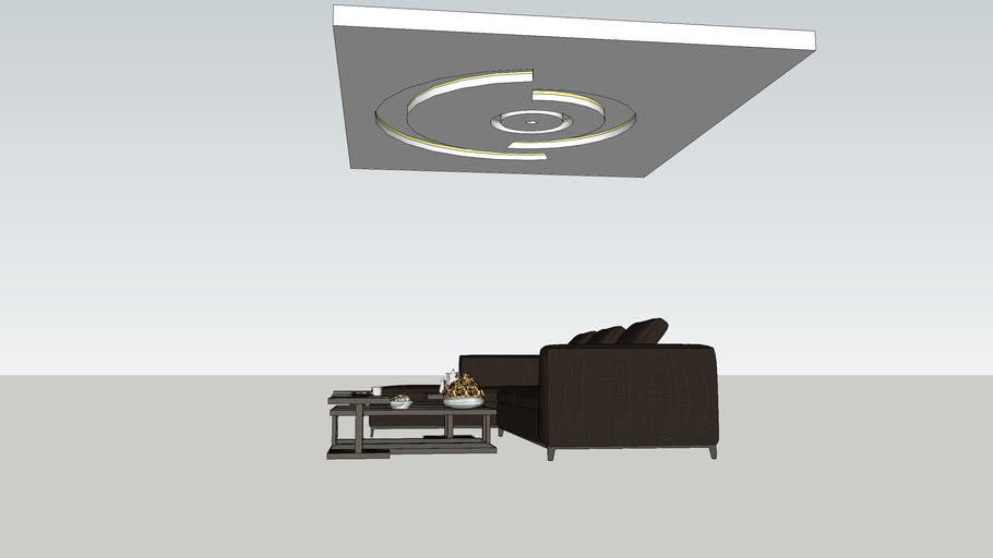 sofa and ceiling