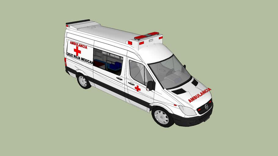 ambulancia delegacion baja california la paz cruz roja mexicana
