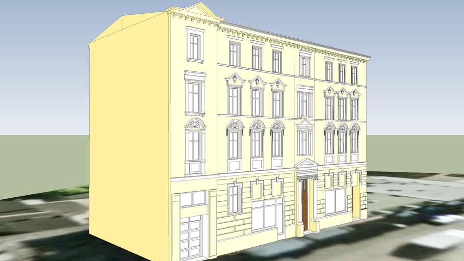 TENEMENT HOUSE ON 46 SNIADECKICH STREET IN BYDGOSZCZ