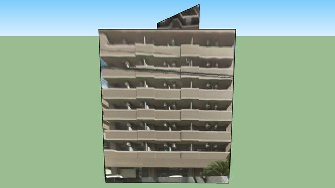 Building in Fukuoka, Fukuoka Prefecture, Japan
