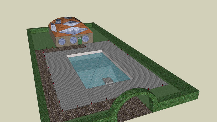 A nice house whit pool