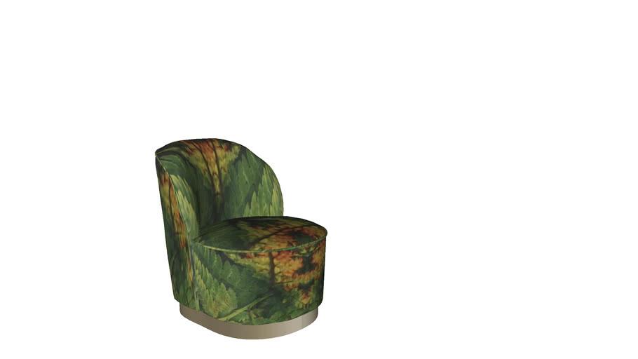 85142 Arm Chair Cherry Leaf