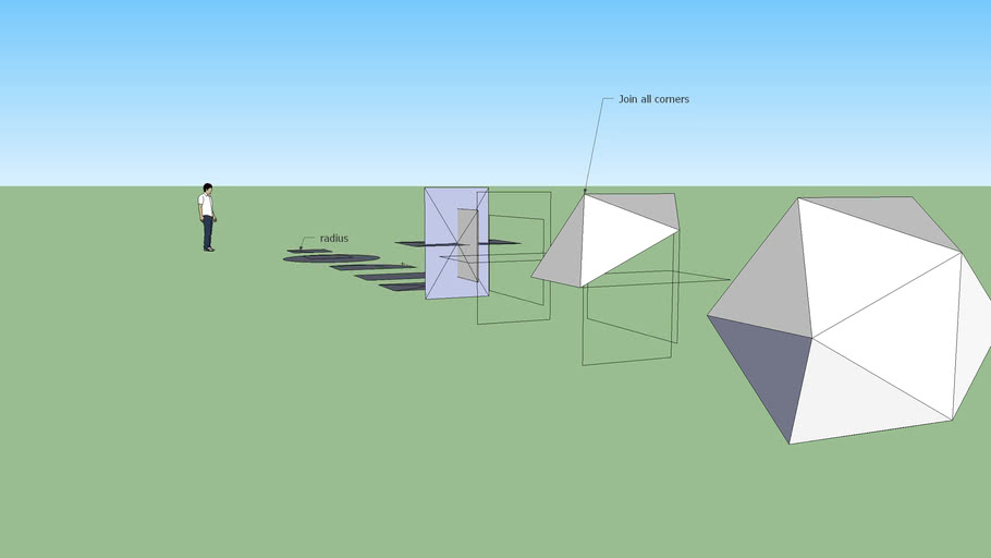 Creating an icosahedron (revised)