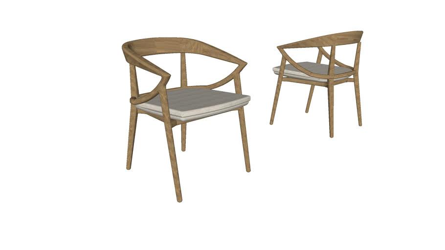 Cadeira Bonina - com braços