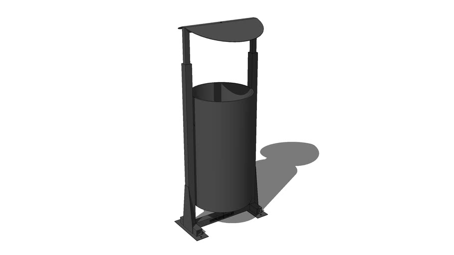 Урна ПА013 / Urn turning trashcan PA013