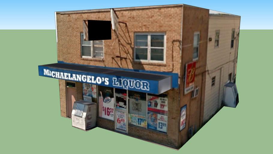 Michaelangelo's Liquor, 23rd Street, Independence, MO, USA