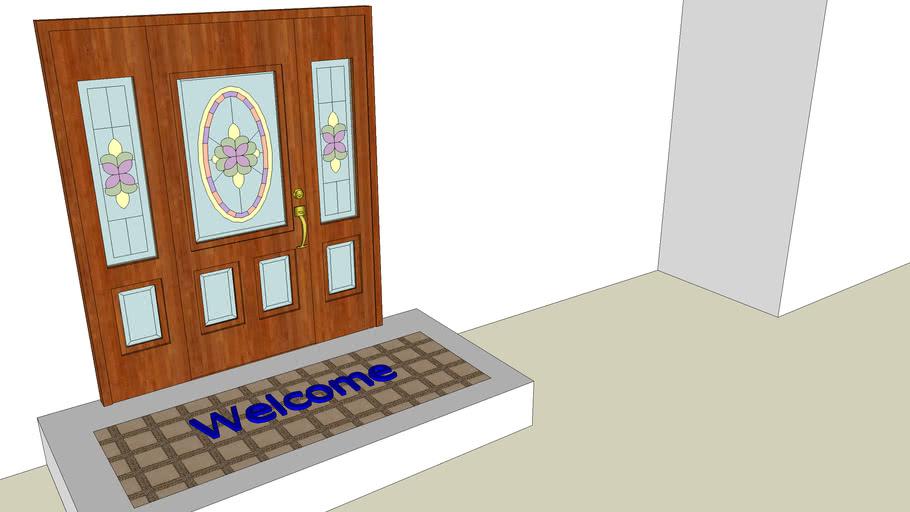 Tapete de bienvenida