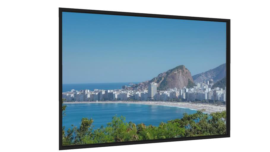 Quadro Copacabana de Cima - Galeria9, por Leo Jordão