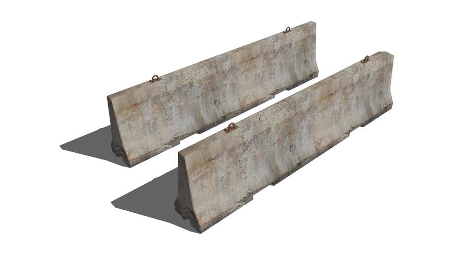 concrete road blocks