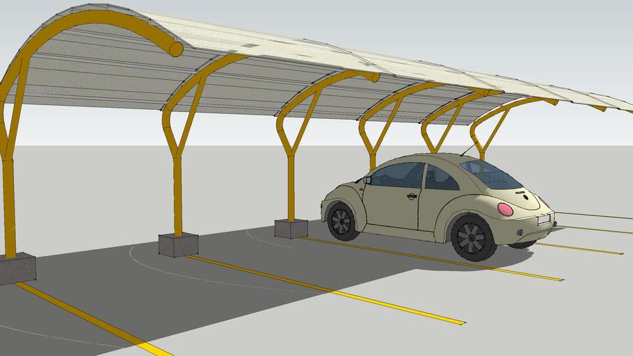 Parking Lot Roof 3d Warehouse