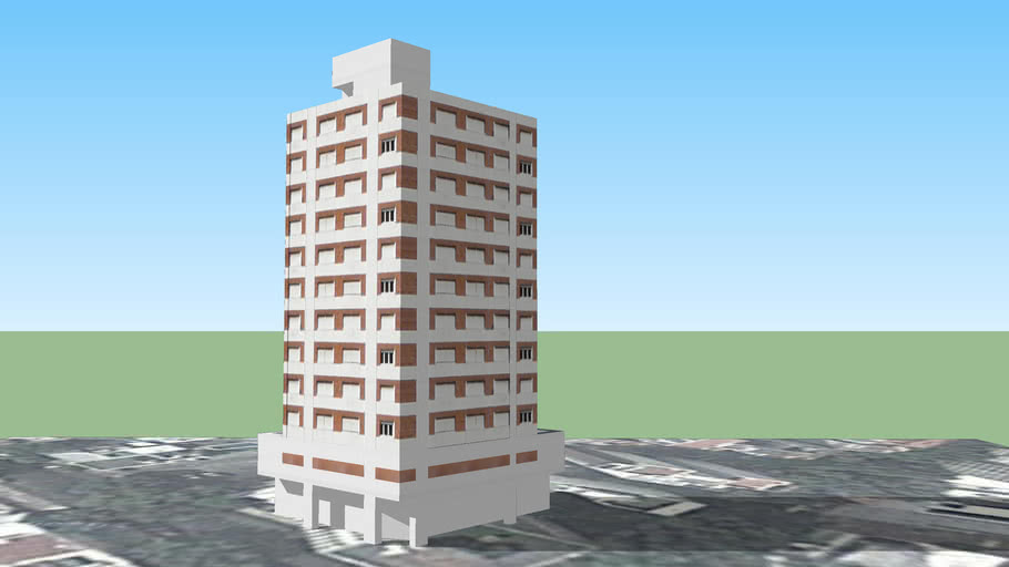 Edificio en 5 y 56, La Plata