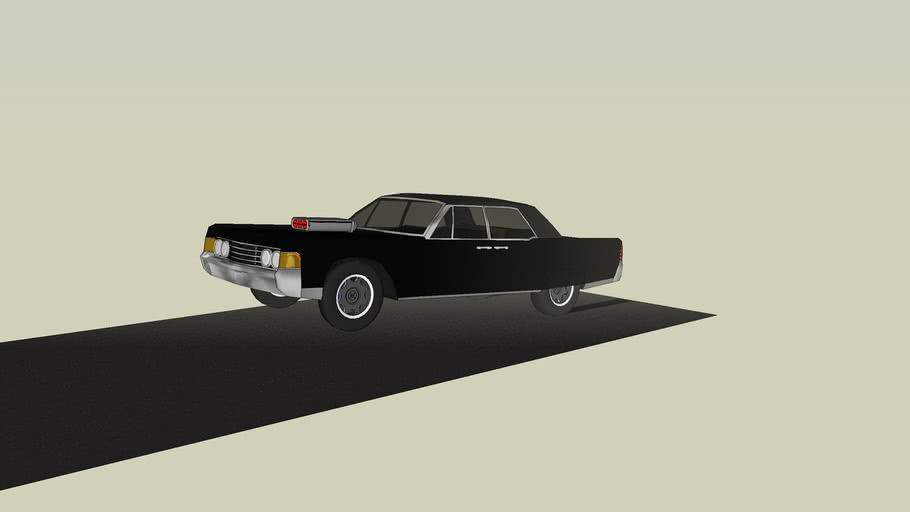 1965 Lincoln continental muscle