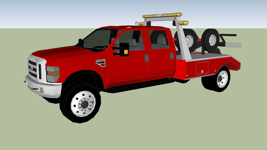 F-550 Tow Truck