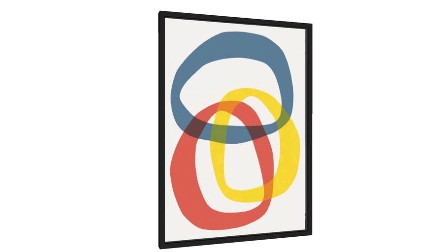 Quadro Traços abstratos - Galeria9, por Arte Decor