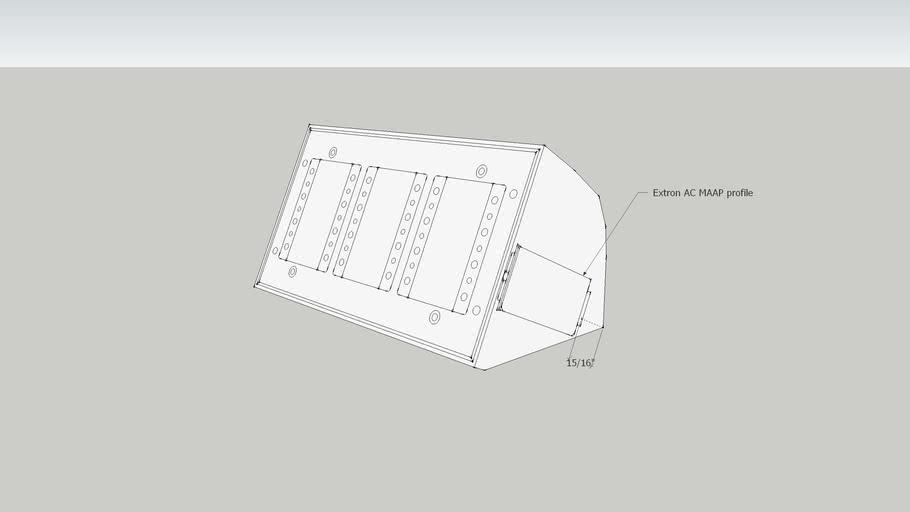 Tabletop AV box