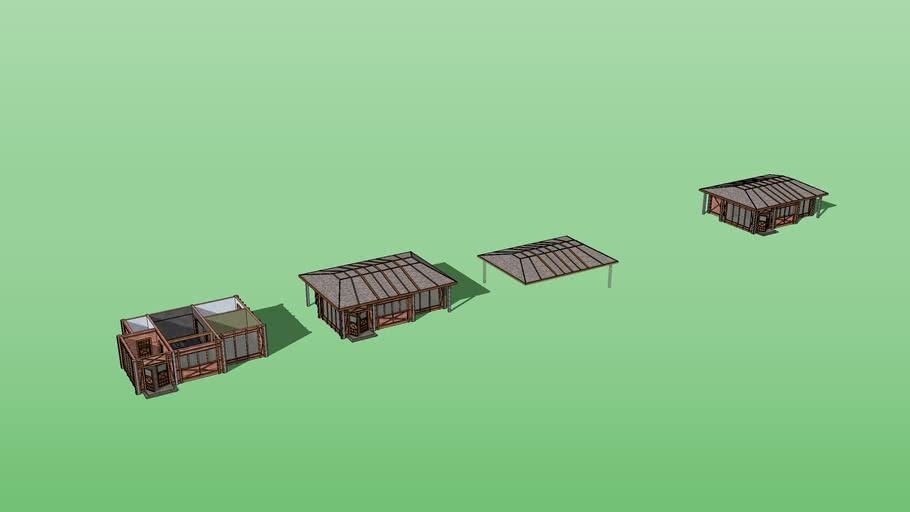 Medieval Themed Modern Home + Split Assets