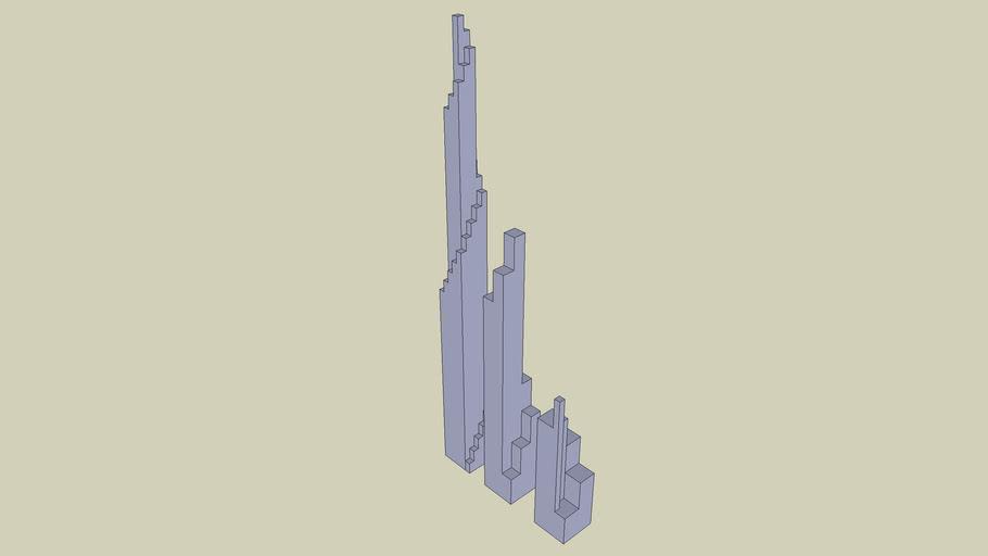 Spiral Skyscrapers