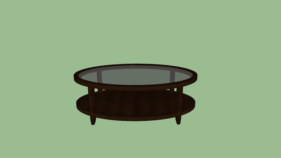 David Edwards Aussie Oval coffee table