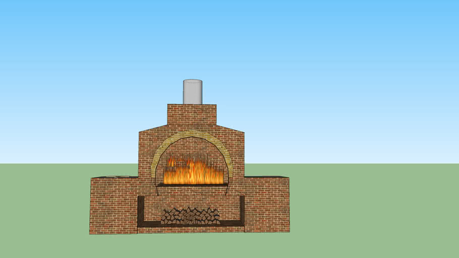 Outdoor Pizza Oven 3d Warehouse
