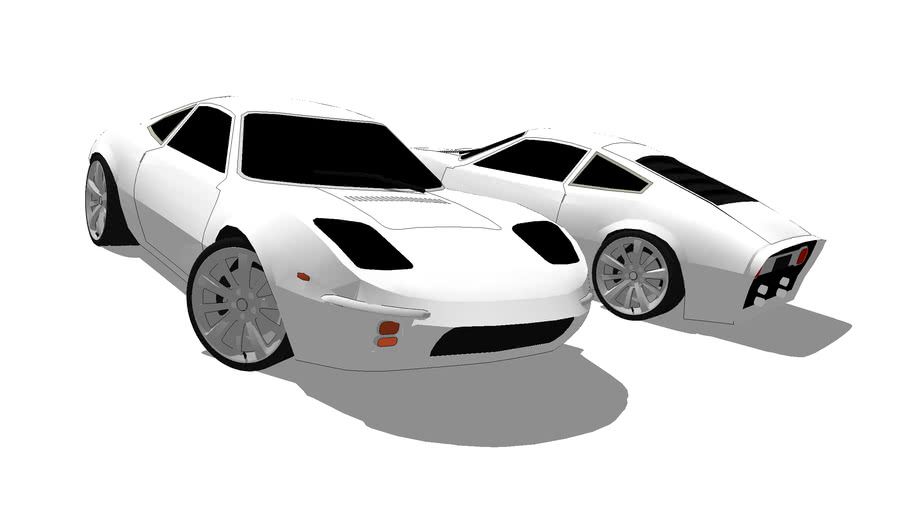 Modified Ford GT70