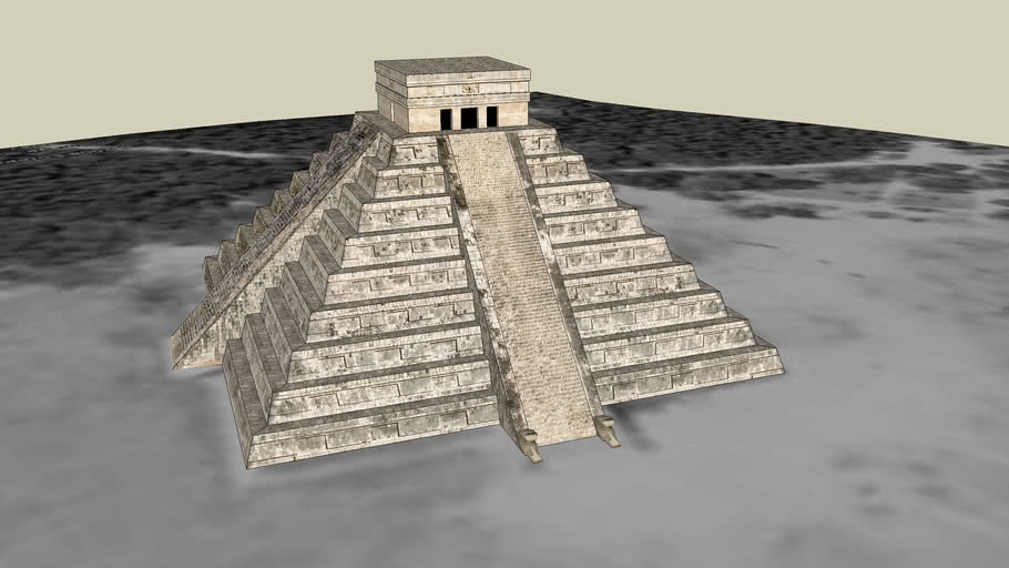 The Temple of Kukulcan