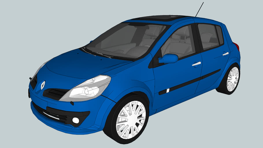 2006 Renault Clio III Phase I (High Poly)