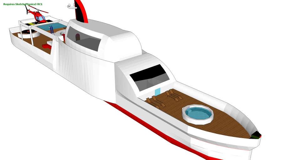 my first mega yacht