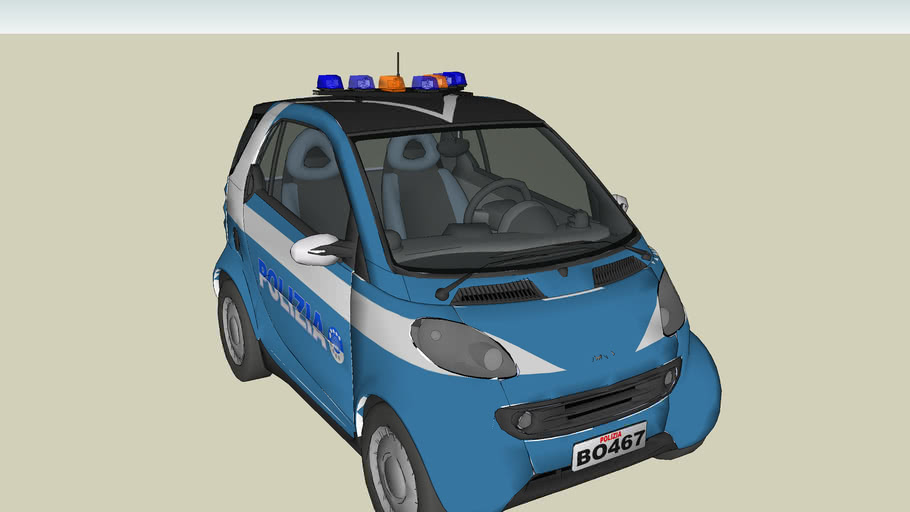 smart of the ITALIAN STATE POLICE, ROME DIVISION