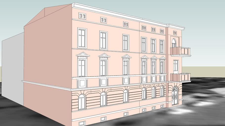 TENEMENT HOUSE ON 12 OBRONCOW BYDGOSZCZY STREET