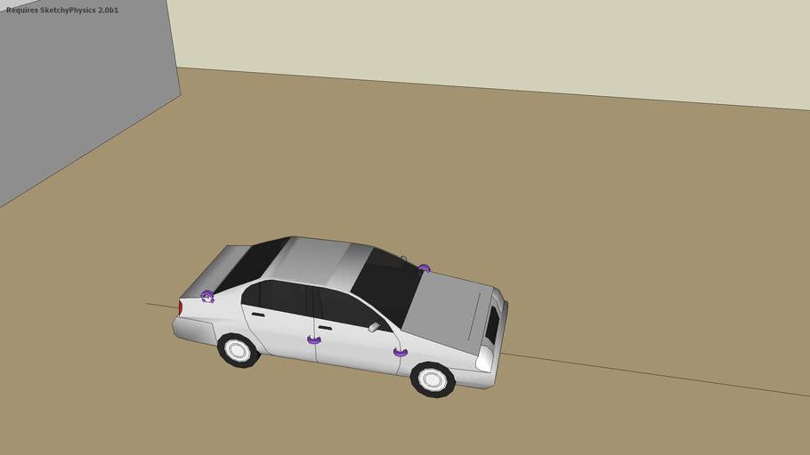 Google Sedan Crash Test