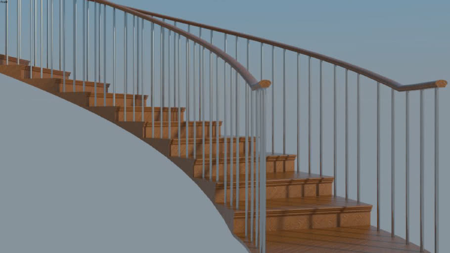 Staircase Concept 003 : Curved Staircase