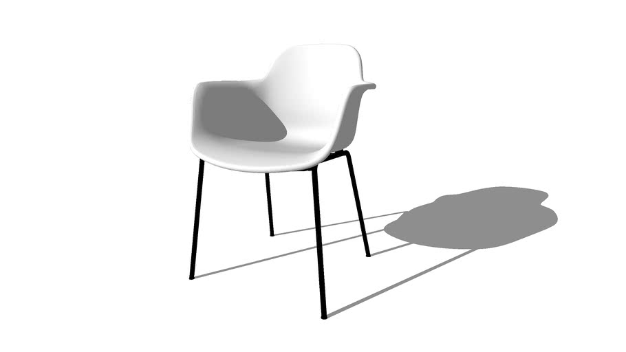 Arena Chair, 4 Leg, Hans Thyge, by Icons of Denmark
