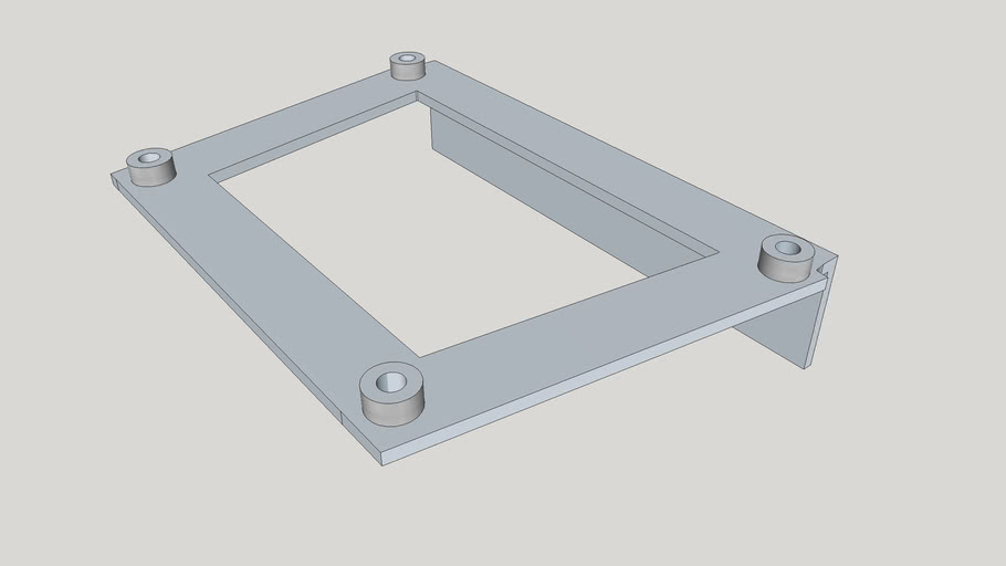 Outboard mounting plate