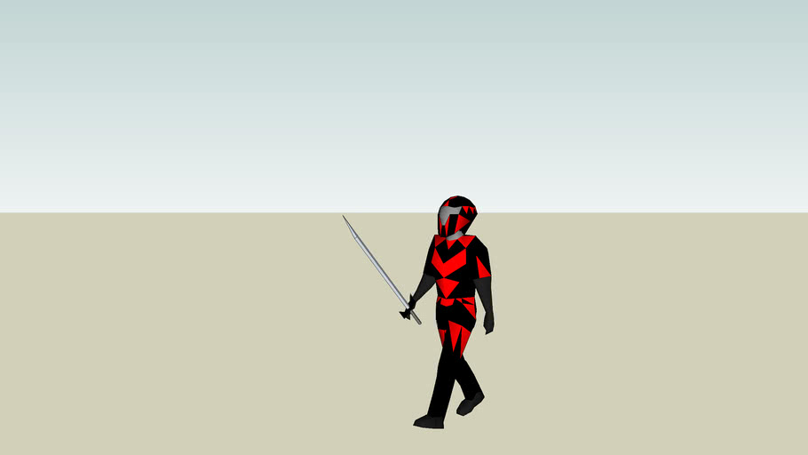 mars sword fighter
